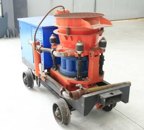 喷浆机的维护保养